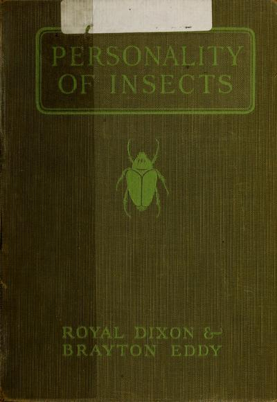 Personality of insects /