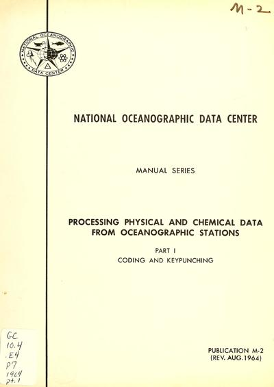 Processing physical and chemical data from oceanographic stations.