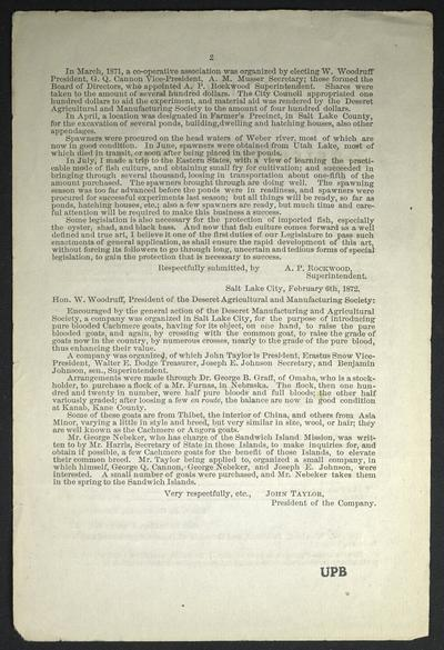 Report of Agricultural Society.