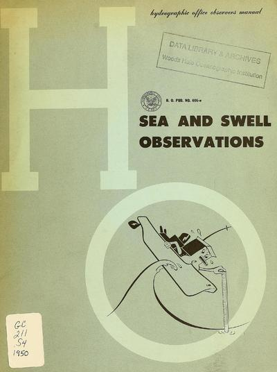Sea and swell observations; wave characteristics, waves of the sea, how to make observations, reporting procedure.