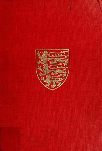 The Victoria history of the county of Hertford. Edited by William Page.