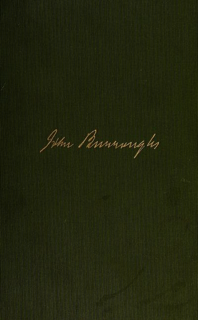 Ways of nature, by John Burroughs.