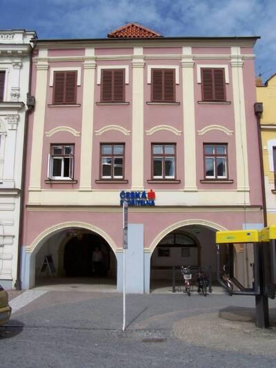 Svitavy, náměstí Míru č.p. 111, (bývalé č.p. 110), měšťanský dům