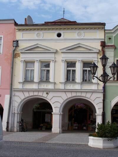 Svitavy, Měšťanský dům, čp. 190 (původně 127)