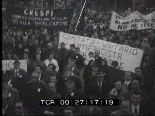 Presentazione in Campidoglio del libro di Ravaglioli e Caputo che ricostruisce i giorni della Resistenza nella capitale. Manifestazioni di piazza per commemorare i drammatici giorni della liberazione della città.