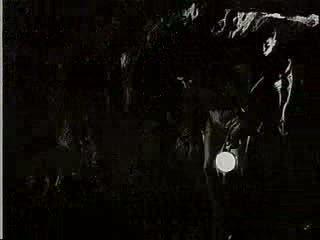 Italia - in una grotta dell'Argentario vita di diecimila anni fa