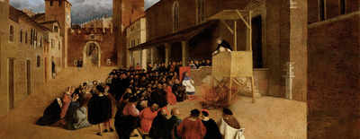 Predigt des Hl. Dominikus in Recanati