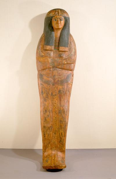 Mumienförmiger Innensarg der Sängerin der Isis Meret-en-ahet