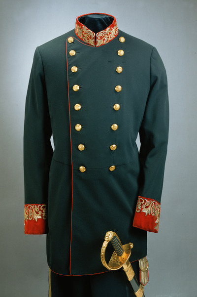 Gala-Uniform eines k. u. k. Ministers