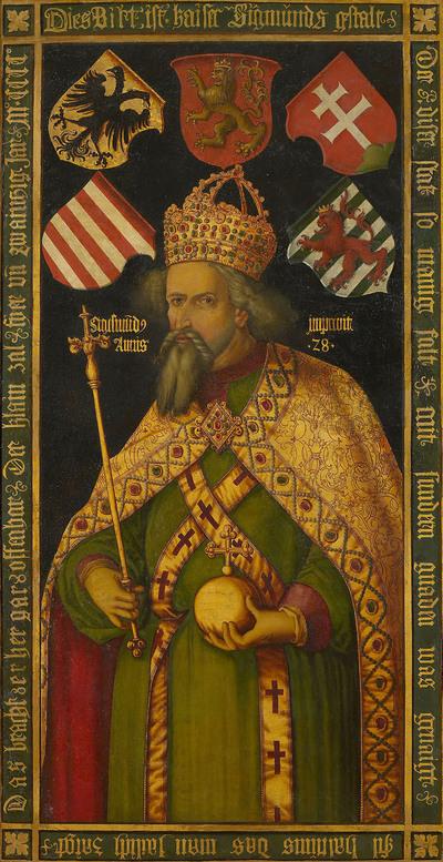 Bildnis Kaiser Sigismunds (1361-1437)