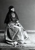 Donna in costume settecentesco veneziano