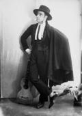 Vittorio Emanuele Caldara in costume spagnolo