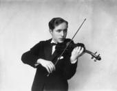 Ritratto di giovane violinista