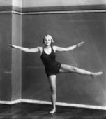 Esercizio ginnico di Paola Paulin