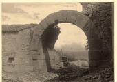 La porta nord di Altilia.