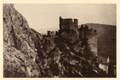 Veduta del Castello di Pesche nei dintorni di Isernia.
