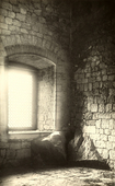 Finestra all'interno del castello di Campobasso.