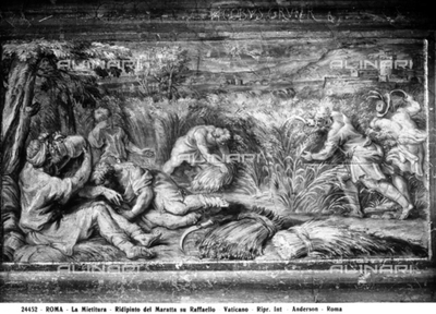 The harvest, by Carlo Maratta, in the Vatican Museums, Vatican City