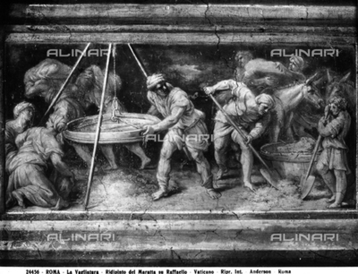 The riddling, by Carlo Maratta, in the Vatican Museums, Vatican City