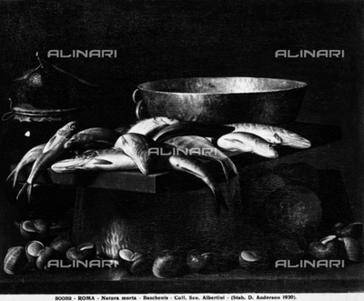 Still Life, by Evaristo Baschenis, formerly in the Collection of Sen. Albertini, in Rome