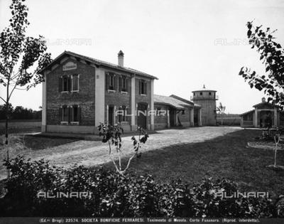 Fasanara Court in the rural center of Mesola, Ferrara hinterlands.