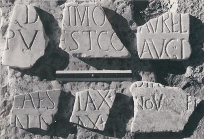 Dedication to third century emperor(s)