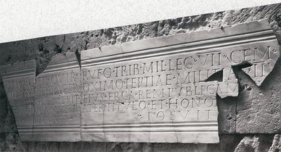 Honours for Avitius Rufus