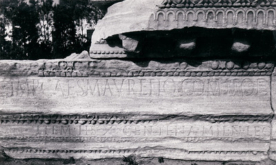 Dedication to Commodus