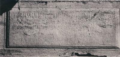 Dedication to Constantius I and Galerius