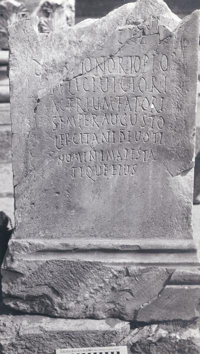 Dedication to Honorius