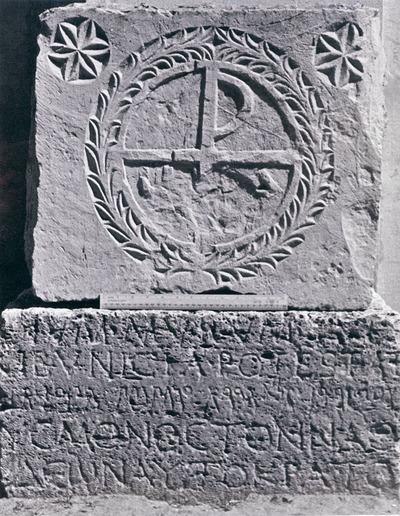 Building inscription by Caecilius Diodorus
