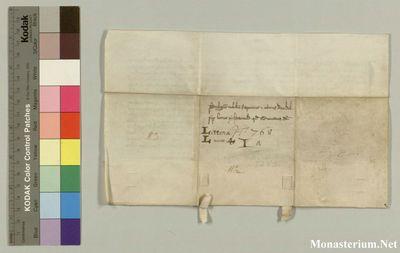 Charter: LilienfeldOCist 1283 III 08