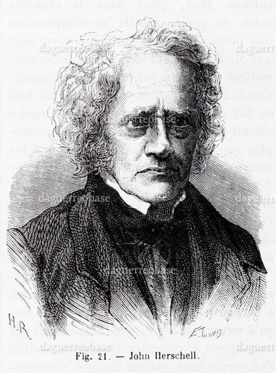 Portrat de John Herschell