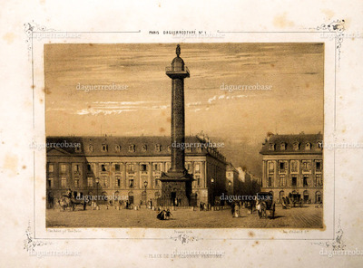 Place de la Colonne Vendome.