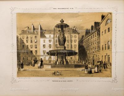 Fontaine de la Place Louvois.