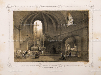 Chapelle du Calvaire Eglise St. Roch.