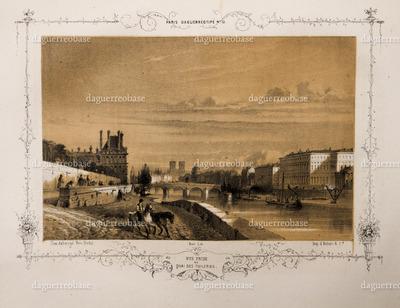 Vue prise du Quai des Tuileries.