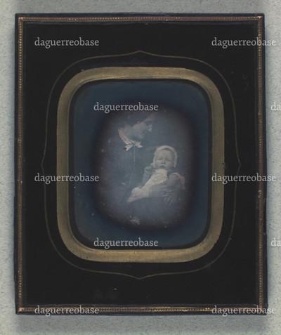 Dobbeltportræt af Petra Holst med sin søn Vilhelm Holst