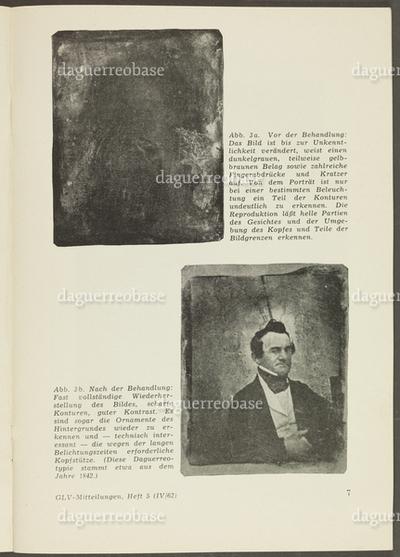 Restaurierung von Daguerreotypien