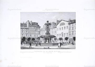 Fontaine de la Place Louvois