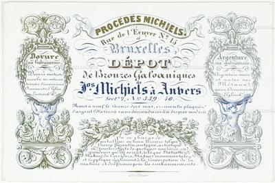 Procédés Michiels Dorure au Galvanisme