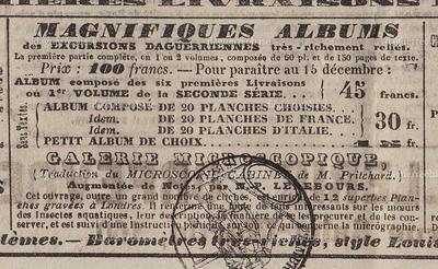 Journal des Débats - Excursions Daguerriennes albums