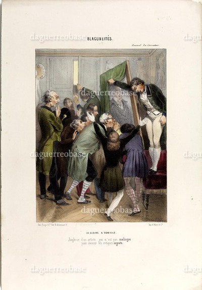 La Caricature - prix d'un daguerreotype