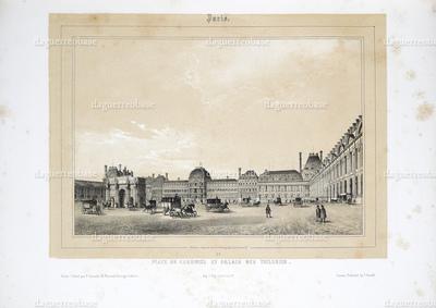 Place du Carousel et Palais des Tuileries