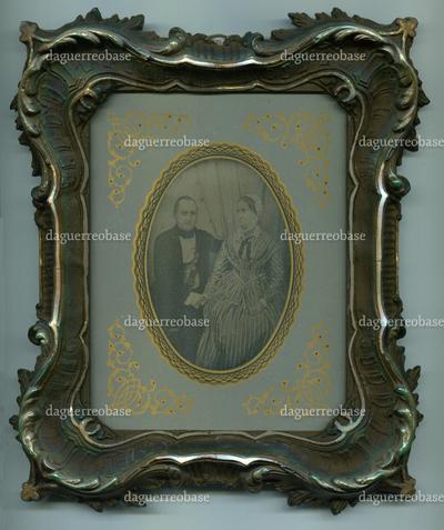 [Bildnis des Gerichtsamtmannes Carl Moritz Kölbing (1795-1872) und Lydia Kölbing geb. Sörensen (1798-1854)]
