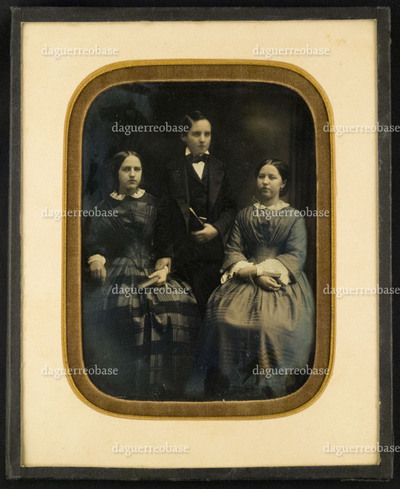 Portrait of Elisabeth Henrietta Maria Philipse, Adriaan Hendrik Philipse and Anna Johanna Philipse