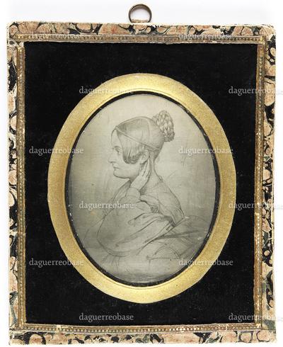 [Bildnis der Jenny von Gustedt, geborene Jeromée Catharina Rabe von Pappenheim (1811-1890)]