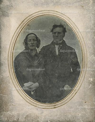 [Porträt Karoline Henriette Luise Junot, geb. von Schiller (1799-1850) und ihres Mannes Bergrat Franz Karl Immanuel Junot (1785-1846)]
