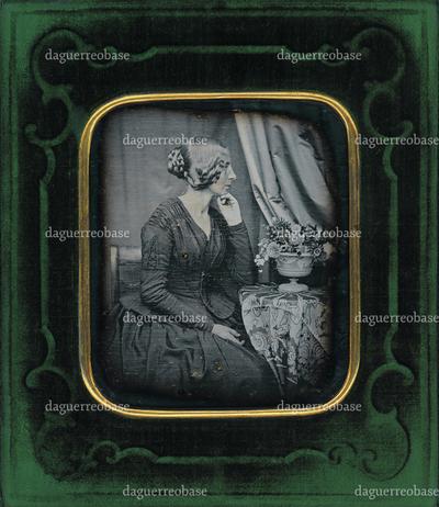 [Porträt der Bertha Wehnert-Beckmann (1815-1901)]