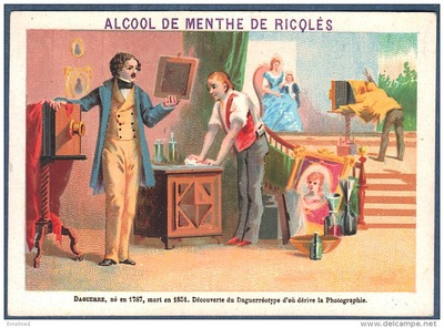 Daguerre - advert Ricqlès alcool de menthe